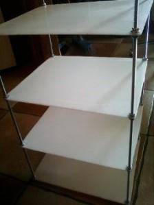 Structure de Plexiglas