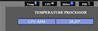 Capture d'écran interface Web