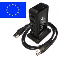 PiHut 7 Ports, Hub USB