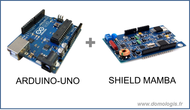 Arduino + Shield Mamba