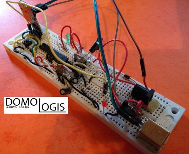 Le prototype Arduino-DIY