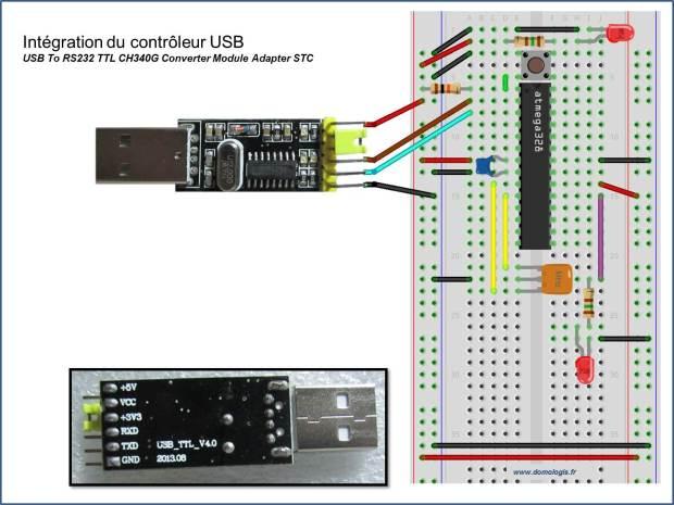 Intégration_controleur USB CH340G